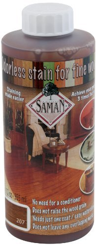 SamaN TEW-207-12 12-Ounce Interior Water Based Stain for Fine Wood, Cognac by SamaN