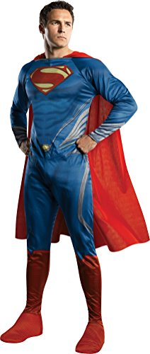 [Rubie's Costume Man Of Steel Adult Complete Superman, Blue/Red, X-Large] (Mens Superman Man Of Steel Costumes)