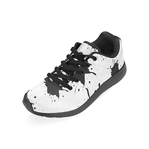 Lona Negro Negro Zapatillas Zenzzle Running para Mujer de de wx6SZqZnpI