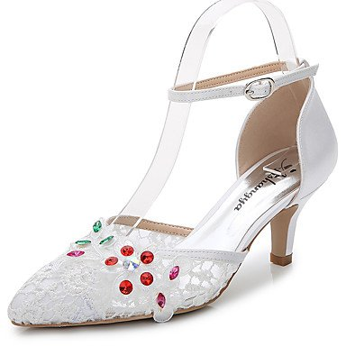 5 US6 7 Career Fall EU37 5 Piece Women'S Evening amp;Amp; Outdoor White Zormey Office Silk D'Orsay Cn35 amp;Amp; Summer Eu36 Uk3 5 Us5 Materialswedding Dress amp;Amp; Sandals CN37 Party 5 5 Customized Synthetic Two UK4 wptqtZx4C