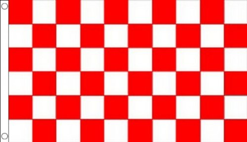 - AZ FLAG Red and White Check Flag 2' x 3' - Checkered Racing Flags 60 x 90 cm - Banner 2x3 ft