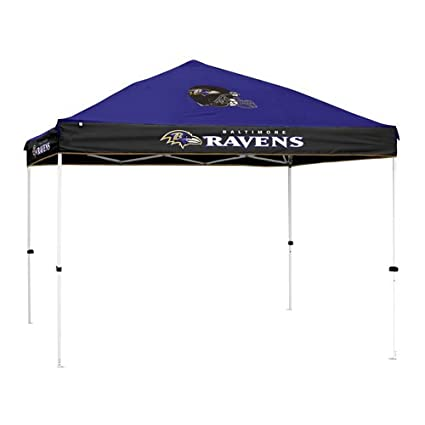 Baltimore Ravens NFL First-Upu0026quot; 10u0027x10u0027 Straight Leg Canopy ...  sc 1 st  Amazon.com : first up tent replacement parts - memphite.com