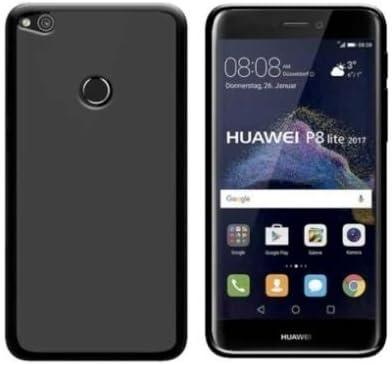Todobarato24h Funda TPU Lisa Compatible con Huawei P8 Lite 2017 5.2 (4G) Negra: Amazon.es: Electrónica