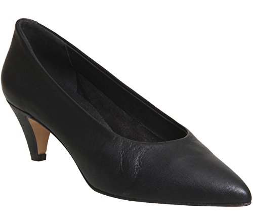 Shoes Leather Black Macadamia Court Office Unlined Fqw7tyz