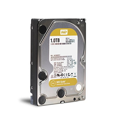WD Gold 1TB Enterprise Class Hard Disk Drive - 7200 RPM Class SATA 6 Gb/s 128MB Cache 3.5 Inch - WD1005FBYZ by Western Digital (Image #3)