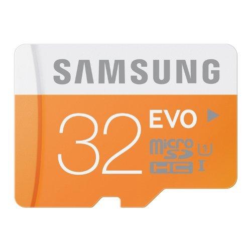 Samsung Electronics 32GB EVO Micro SDHC UHS-I Upto 48MB/s Class 10 Memory Card (MB-MP32D)