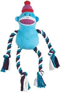 MVPBR Twisted Rope Pet Chew Toy, Monkey