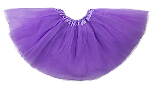 [Dancina Tutu Vintage Classic 3 Layer Ballerina Dance Recital Performance Skirt 2-7 years Lavender] (Fun Cheap Easy Halloween Costumes)