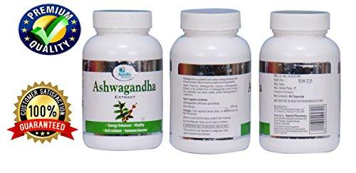 Ashwagandha Capsules / Withania Somnifera 500 Mg 60 Vegetarian Capsules – ★ Energy Enhancer – ★ Vitality – ★ Anti Oxidant – ★ Immune Booster – Apollo Pharmacy For Sale
