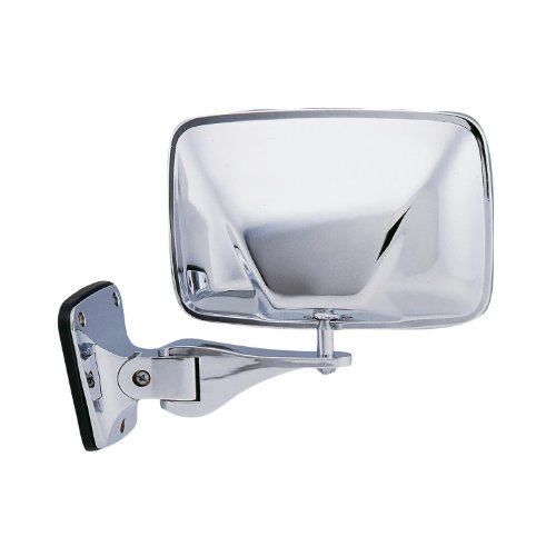 Fit System H3511 Driver/Passenger Side Replacement Lo Mount Universal Mirror