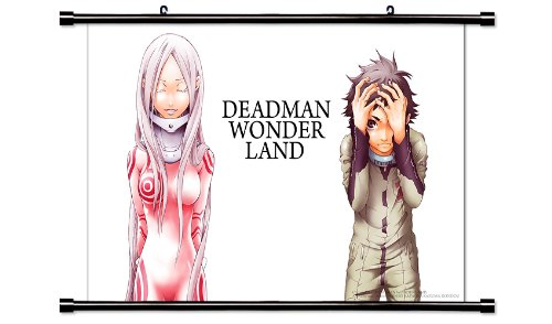 Deadman Wonderland Anime Fabric Wall Scroll Poster (32x20) Inches. [WP]-Deadman Wonderland-8(L) (Scroll Wonderland)