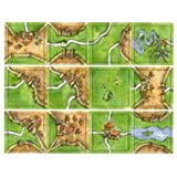 Carcassonne Game Tiles - 12 Count