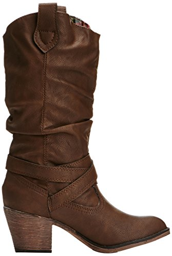 Botas Dog Marrón Chocolate mujer para Sidestep Rocket ScOqHwxB0w