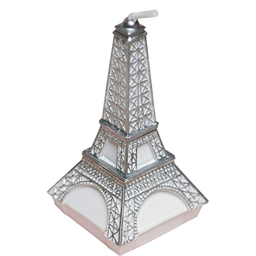ILIKEPAR Birthday Candles Eiffel Tower Candles Smokeless Cake Topper Candle for Party Supplies and Wedding Favor