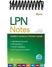 LPN Notes: Nurse's Clinical Pocket Guide