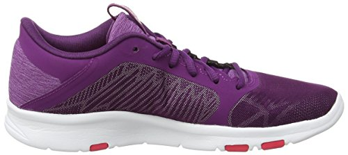 silver fit Chaussures Red De 3 Gel Femme Asics Fitness Violet Tempo prune rouge 6qwSnv