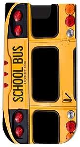 Rikki KnightTM Back Of A Yellow School Bus - Smart Phone Neoprene Protective Pouch for iPhone 4/4s/5/5s/5c, Motorola Moto X, Galaxy S3/S4/Note 3/Ace 2, LG Optimus Gpro/G2/L3/4X HD, Sony Xperia Z1S/U, HTC Droid/One/One X/Pro/mini, Blackberry G10/Z10, Nexus