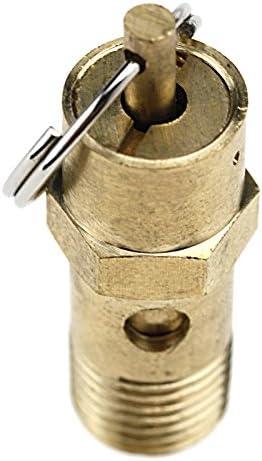 10 Bar Compressor Safety Valve 1 4 Inch 145 Psi Baumarkt