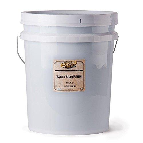 Golden Barrel Supreme Baking Molasses (5 Gallon Pail)