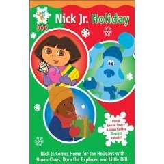 Dora the Explorer Christmas ,Blue's Clues Christmas , Little Bill Christmas , Rugrats Christmas : Nick Jr. Holiday
