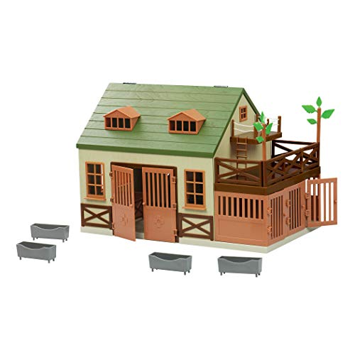 Terra by Battat - Animal Hospital - Wooden Toy Vet Clinic Playset for Kids 3+ (15 pc)