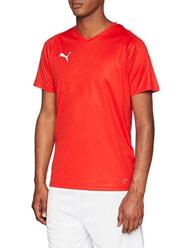 shirt White Puma puma Red Core T Liga Jersey Homme gnwqRUax