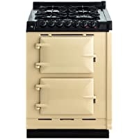 AGA TCDCLPM 24 Inch Wide 2.63 Cu. Ft. Slide In Gas Integrated Module Range for A, Cream