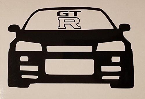 (R32 GTR Car Decal- {Black} 5