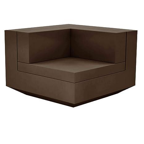 Vondom Vela sofá modulo esquina bronce: Amazon.es: Jardín