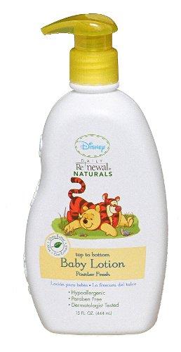 Disney Baby Lotion Powder, Fresh, 2 Pack