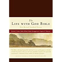 NRSV, The Life with God Bible, Compact, Italian Leather, Burgundy (A Renovare Resource)
