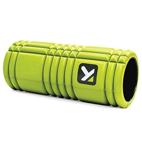 TriggerPoint GRID Foam Roller with Free Online Instructional Videos, Original (13-Inch), Lime ()