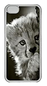 Customized iphone 5C PC Transparent Case - Have A Look Cover
