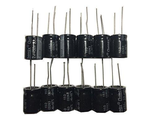 22uF 450V 16X22 +/-20% +105℃ 12 PCS Aluminum Electrolytic Capacitors 450v Electrolytic Capacitor