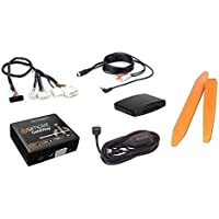Bluetooth streaming audio music kit plus aux input cable and dash tools for select 2006+ Nissan/Infiniti radios (Bundle: 3 items)