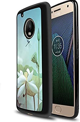 Amazon.com: White Lotus Moto G5 Plus Case Creative ...