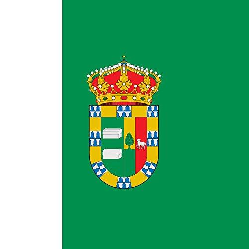 magFlags Bandera Large EDICTO relativo a la aprobación de Escudo Heráldico y Bandera Municipal | 1.35m² | 120x120cm