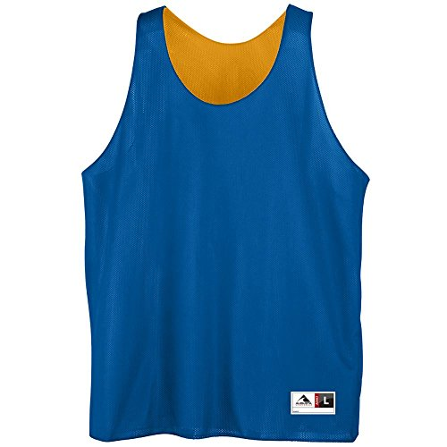Youth Reversible Mini Mesh League Tank - ROYAL GOLD LARGE by Augusta Sportswear