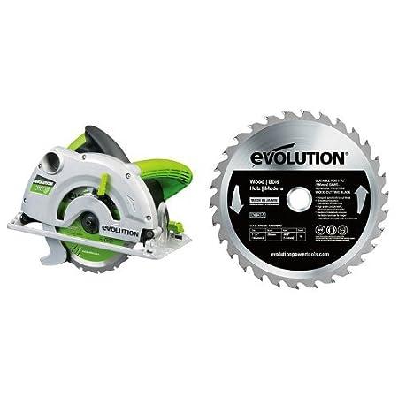 Evolution Power Tools Power Tools FURY Multi-Purpose Carbide-Tipped Blade 165 MM
