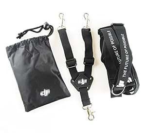 Anbee Dual Shoulder Belt Neck Strap Sling Lanyard for DJI Phantom 2 3, Phantom 4 Pro, Inspire 1 Transmitters