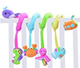 SKK Baby Infant Crib Toy Stroller Activity Spiral and Travel Toy Ocean