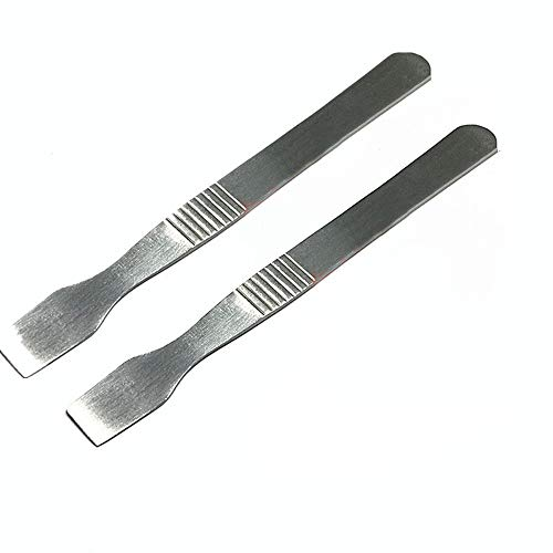 Open Tool Ipod - 2pcs Metal Flat Spudger Pry Open Opening Tool for Ipod Video Classic Nano Touch Iphone Ipad 1st 2nd 3rd 4th Mini Wifi 3g