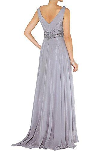 Elegant mit Lang mia Abschlussballkleider Chiffon Spitze Fuchsia Abendkleider Applikation Brautmutterkleider La Brau Promkleider qFU8nqxB