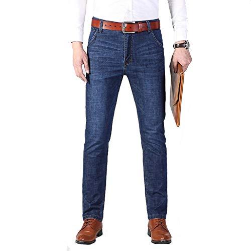 Stretch Men Vintage Fit Negocio Jeans Relax Ropa Jeans T Cotton Men's Slim Classic Colour Men's Jeans High Straight Straight Hombre Washed Hombre fqdgRf