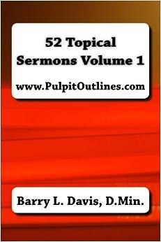 Book 52 Topical Sermons Volume 1