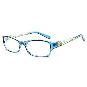 Fantia Kids Eyeglasses Stripe Children Eyewear Student Glasses Age 3-12 (11#)