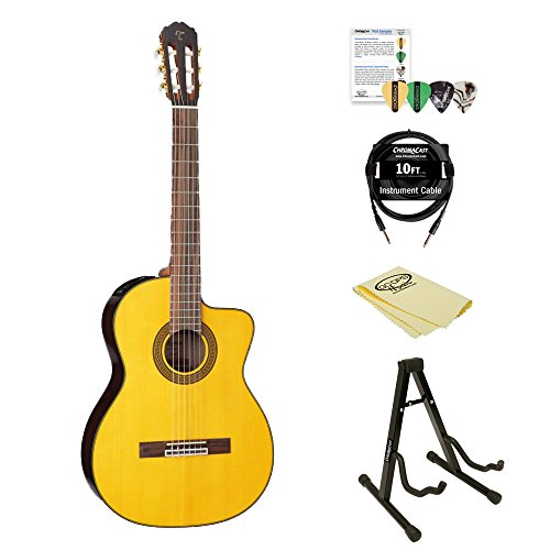 takamine gc5ce kit 2 acoustic electric classical cutaway guitar guitar buy online free. Black Bedroom Furniture Sets. Home Design Ideas