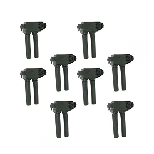 Ignition Coils Kit Set of 8 for Chrysler Dodge Jeep Ram Truck 5.7L 6.1L V8 (300+ Ignition Kit)