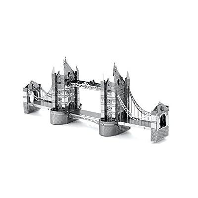 Metal Earth Fascinations London Tower Bridge E Brandenburg Gate Puzzle In Metallo 3d Giocattoli Da Costruzione Modelli Di Taglio Laser