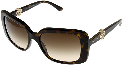 Bvlgari Sunglasses Womens Havana Square BV8146B - Shop Bulgari